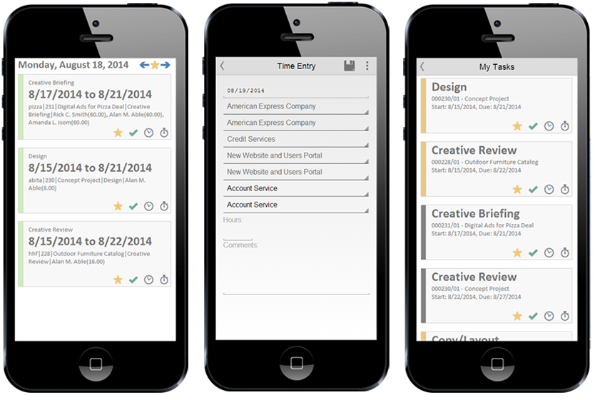 Webvantage can be accessed by any mobile, tablet and smartphone